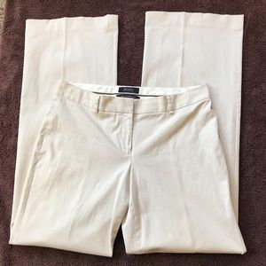 Victoria's Secret Marisa fit wide leg pants, cream